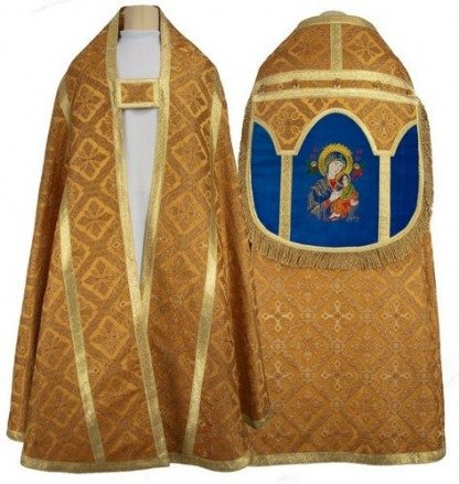 """Roman cope """"Our Lady of Perpetual Help"""" KR4-AGN50"""