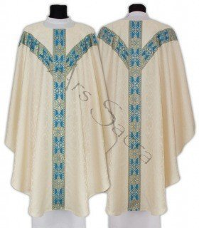 Marian Semi Gothic Chasuble GY201-KN25