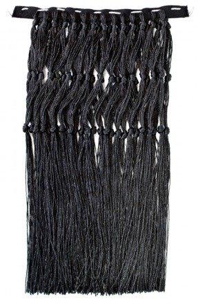 Black fringes FRINGES-CZ