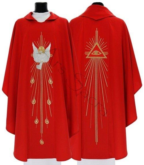 """Gothic Chasuble """"Holy Spirit"""" 535-C"""