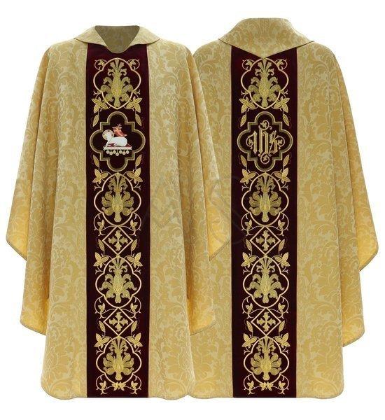 "Gothic Chasuble ""Lamb"" 814-AGC26"