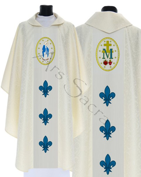 """Gothic Chasuble """"Our Lady of Grace"""" 426-K25"""