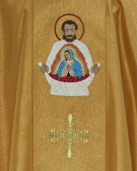 "Gothic Chasuble ""Saint Juan Diego"" 430-G63g"