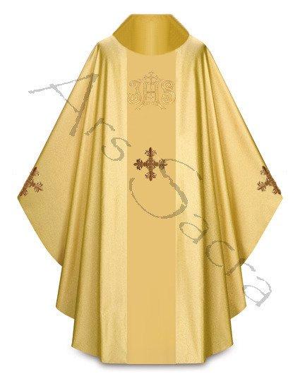 "Gothic Chasuble ""Saint Martin de Porres"" 431-G63g"