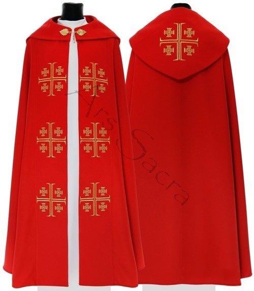 "Gothic Cope ""Jerusalem Crosses"" K723-C"