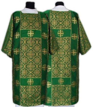 "Gothic Dalmatic ""Jerusalem Crosses"" DF103-F14"