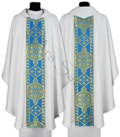 Marian Gothic Chasuble 013-BN