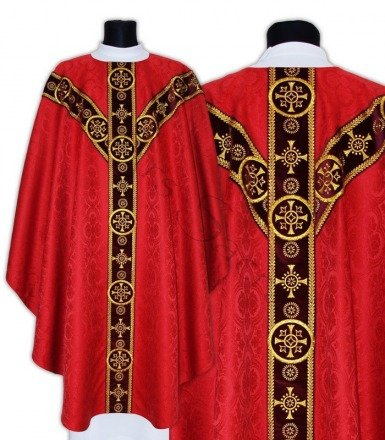 Semi Gothic Chasuble GY579-AC25