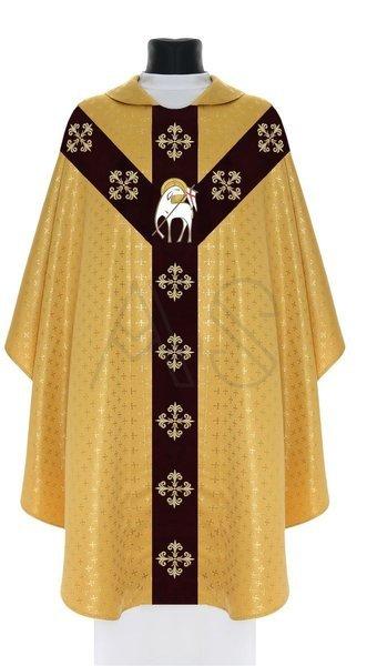 "Semi Gothic Chasuble ""Lamb"" Y801-AGC61"