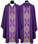 Gothic Chasuble 013-F