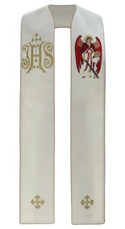 """Gotische Stola """"Erzengel Raphael"""" SH474-K"""