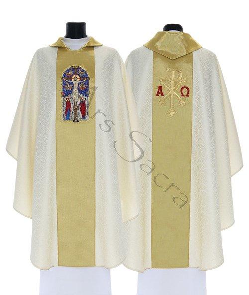 "Casulla gótica ""Crucifixión"" 746-KG25"
