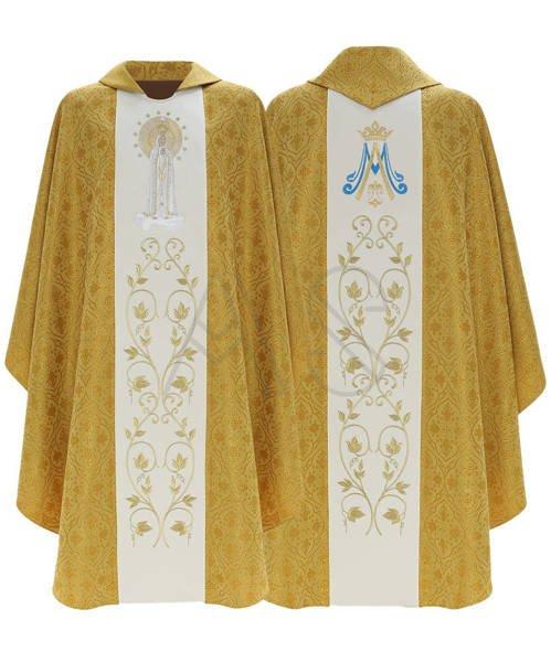 """Casulla gótica """"Nuestra Señora de Fátima"""" 412-G16"""