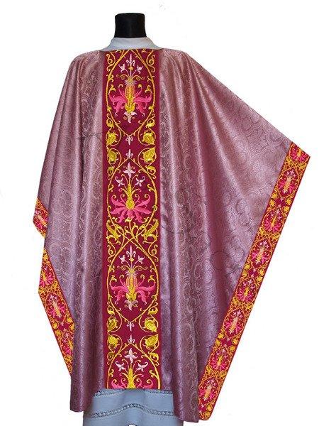 Casulla monástica MX637-R25